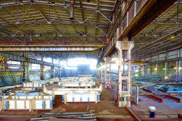 plant of metal constructions