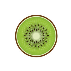 Delicious kiwi fruit icon vector illustration design
