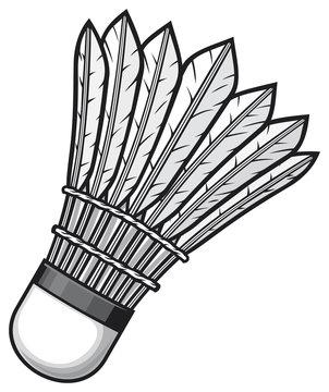 badminton shuttlecock (ball)