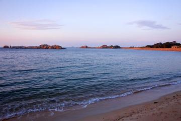 Foto op Plexiglas Caraïben coastline brittany france