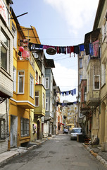 Old street in Istanbul. Turkey