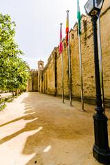 The palace of the Alcazar of the Christian Monarchs, Alcazar de