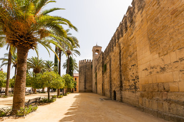 The palace of the Alcazar of the Christian Monarchs, Alcazar de