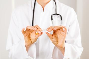 Zigarette Rauchen aufgeben Arzt