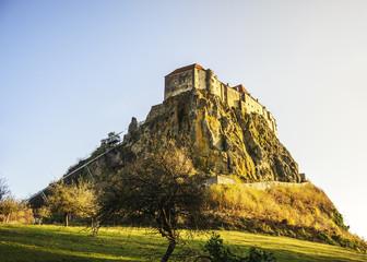 Stolze Burg Riegersburg in der Steiermark