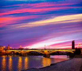 Puente Isabel II bridge Triana Seville Spain