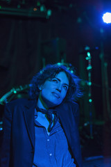 Woman performing at a nightclub