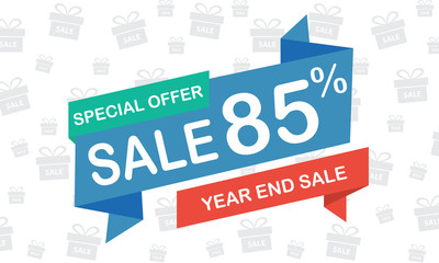 sale 85 percent year end