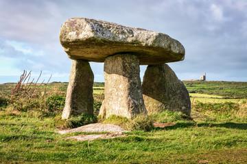 Dolmen Lanyon Quoit in Cornwall