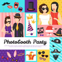 Photo Booth Party Design Concept