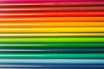Lápices de colores patrón de líneas abstracto