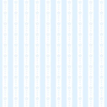 かわいい花の縦レース シームレスパターン ブルー 背景素材 ベクター