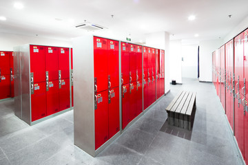 Fototapeta closet in modern dressing room obraz