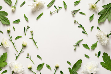 Botanical floral background