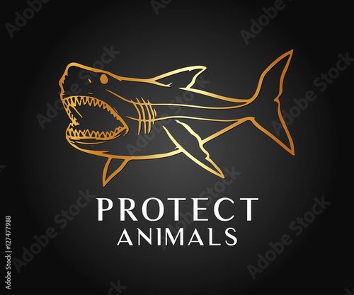 Protect, Look After Animal and Wild Life Vector Design