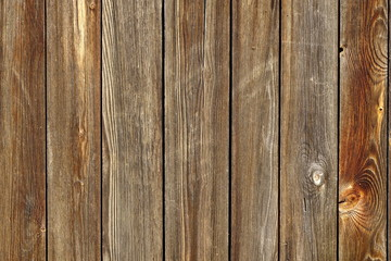 Vertical Barn Wooden Wall Planking Texture. Horizontal Brown Woo