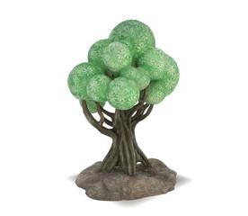 3D illustration of a cartoon tree