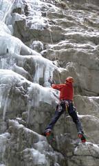 mixed climbing in the Italian Alps