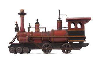 Wood Toy Train 2-5099