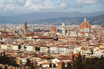View to Florence from San Miniato al Monte