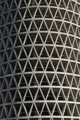 Monolithic concrete residential building under construction