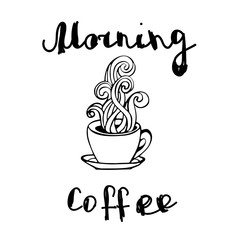 morning coffee drink