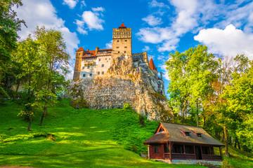 Wall Mural - Medieval Dracula Castle - fortress in Bran, Brasov, Transylvania
