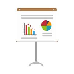 training board paper isolated icon vector illustration design
