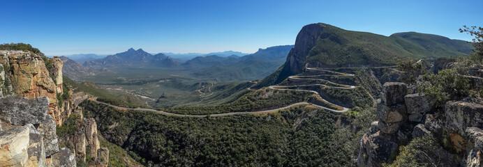 The impressive Serra da Leba pass in Angola