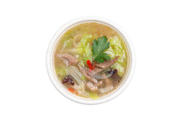 traditional japanese soup udon