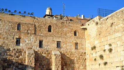 Jerusalem - Klagemauer aus Meleke-Kalkstein
