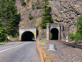 Vehicle and Railroad Tunnels