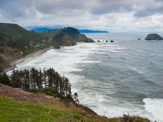 Oceanside Beach View