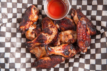 spicy hot chicken wings