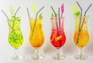 Lemonade from natural ingredients