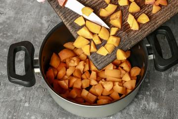 How to make apricot jam. Tutorial