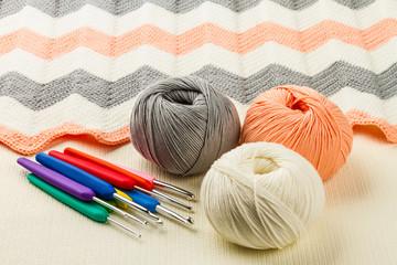rolls of soft knitting yarn, knitting, knitprowave