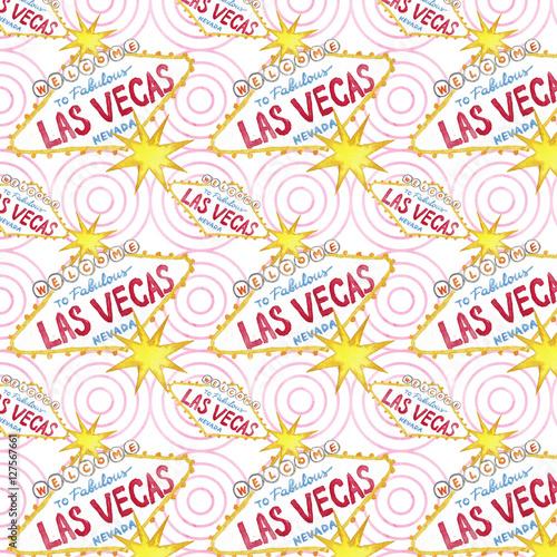 las vegas seamless pattern casino background illustration casino