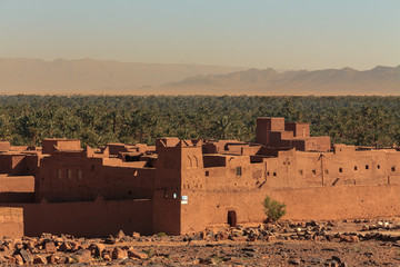 Citadel in the Draa valley.
