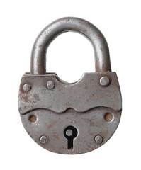 The old big padlock