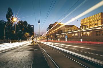 Papiers peints Berlin Evening Glow around Prenzlauer Berg - Berlin