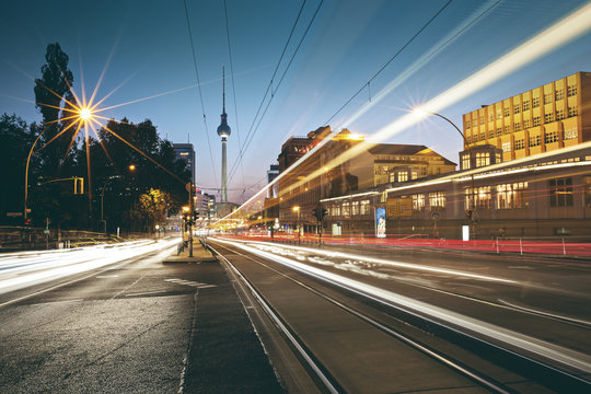 Evening Glow around Prenzlauer Berg - Berlin