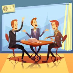 Business Meeting Illustration