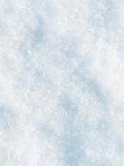 Texture fresh white snow, fallen fluffy snow background