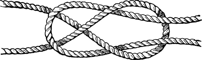 Vintage image knot