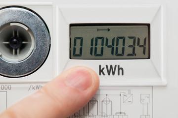 Stromzähler - Digital - Energieverbrauch