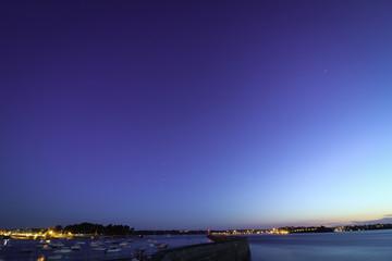 Le ciel de nuit