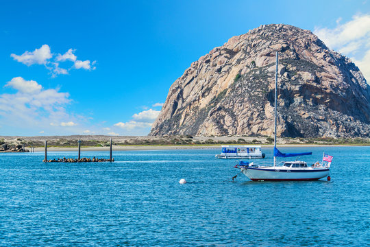 clouds over Morro bay