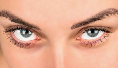 Female beautiful eyes