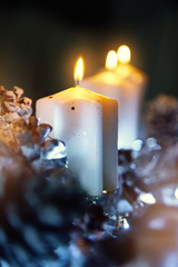 Advent Christmas candles